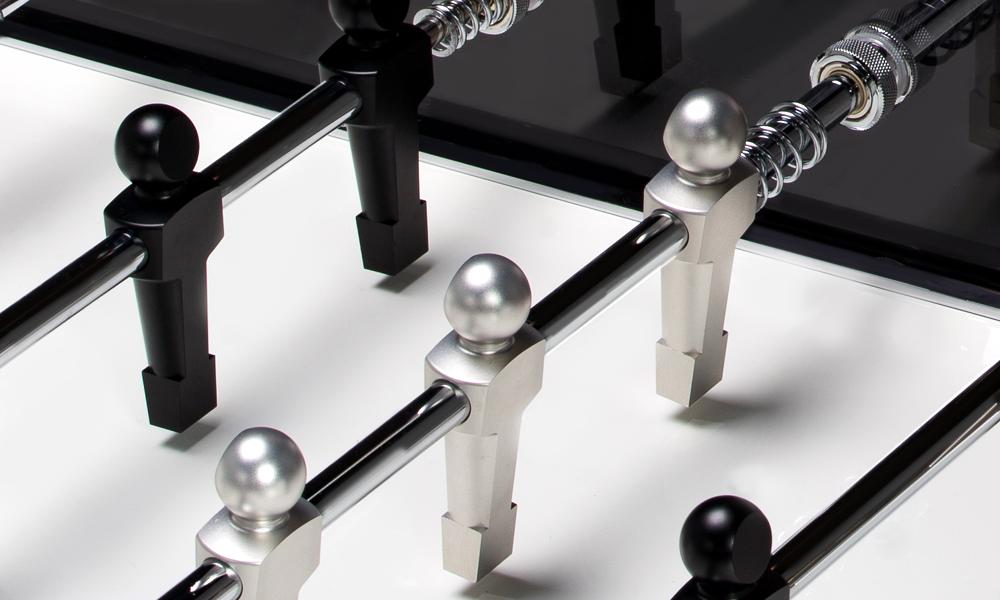 swiss-made luxury football table